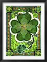 Framed Shamrocks