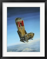 Framed Acrylic Painting of the Martin Baker Ejection Seat
