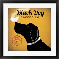 Black Dog Coffee Co. Framed Print