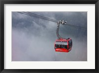 Framed British Columbia, Whistler, Skiing Gondola