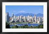 Framed Vancouver Waterfront, British Columbia, Canada