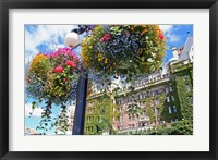 Framed Flowers, Empress Hotel, Victoria, British Columbia