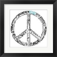 Framed Peace (Different Languages)