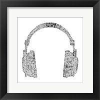 Framed Headphones (Music Genres)