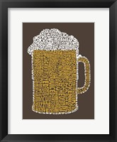 "Framed Beer (Popular Terms for Being ""Drunk"")"