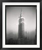 Framed Empire State Building Motion Landscape #2