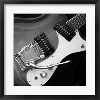 Framed Classic Guitar Detail V