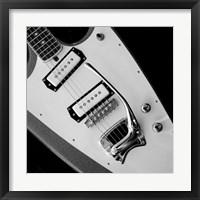 Classic Guitar Detail VI Framed Print