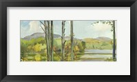 Framed Lake Study (left)
