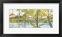 Lake Study (right) Framed Print