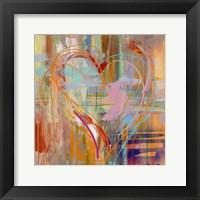 Framed Abstract Heart