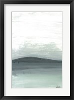 Framed Silver Silence: The Mountain