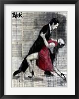 Framed Midnight Tango