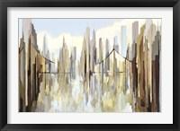 Framed Silver Bay