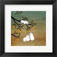 Framed Sugar Plum Tree