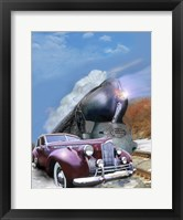 Framed 1940 Packard and 20th Century