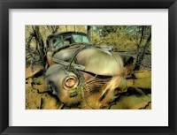 Framed 1941 Chevrolet in Crack Mud