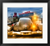 Framed 1950 Buick Dynaflow at the Diner