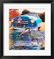 Framed 1950 Nash Rambler Convertible