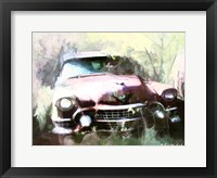Framed 1955 Cadillac in Harmony