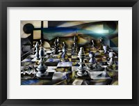 Framed Chess Abstract