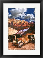 Framed Tanker Truck in Jerome Arizona