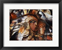 Framed Two Native Americans