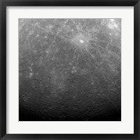 Framed Surface of Mercury