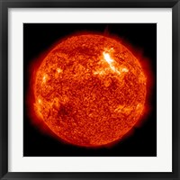 Framed Intensity M87 solar Flare on the Sun's Surface
