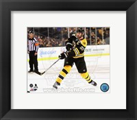 Framed Zdeno Chara 2014-15 Action