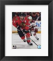 Framed Duncan Keith 2014-15 Action