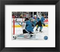 Framed Antti Niemi 2014-15 Action