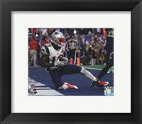 Framed Brandon LaFell Touchdown Super Bowl XLIX