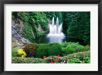Framed Butchart Gardens, Saanich, Vancouver Island, British Columbia