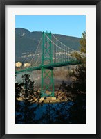 Framed British Columbia, Vancouver, Lion's Gate Bridge