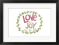 Framed Love and Joy