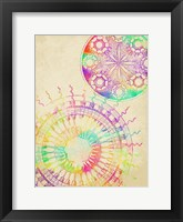 Coastal Rainbow Framed Print