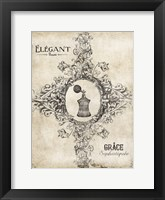 Elegant Beaute Framed Print