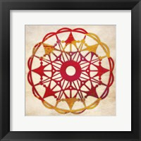 Abstract Pattern II Framed Print