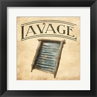 Framed Vintage Washboard