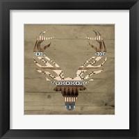 Aztec Deer 2 Framed Print