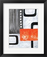 U Turn 1 Framed Print