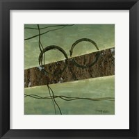 Linear Moves 1 Framed Print