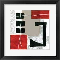 Construction Zone 4 Framed Print