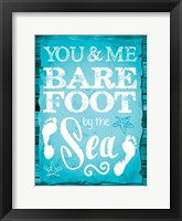 Coastal Love 01 Framed Print