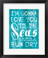 Coastal Love 03 Framed Print