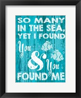 Coastal Love 06 Framed Print