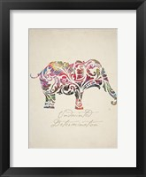 Framed Elephant Set 01