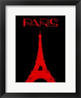Paris Magazine Framed Print