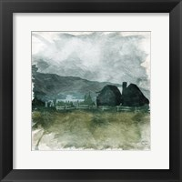 Calm Storm Framed Print